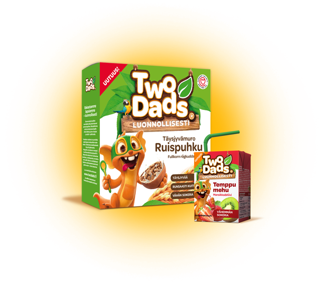 TwoDads® Breakfast Cereals and Juices