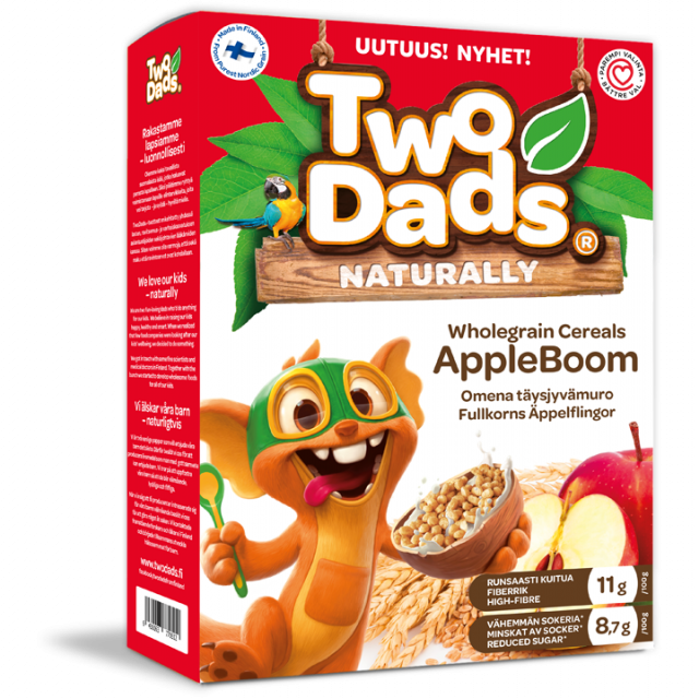 TwoDads® AppleBoom 250g package